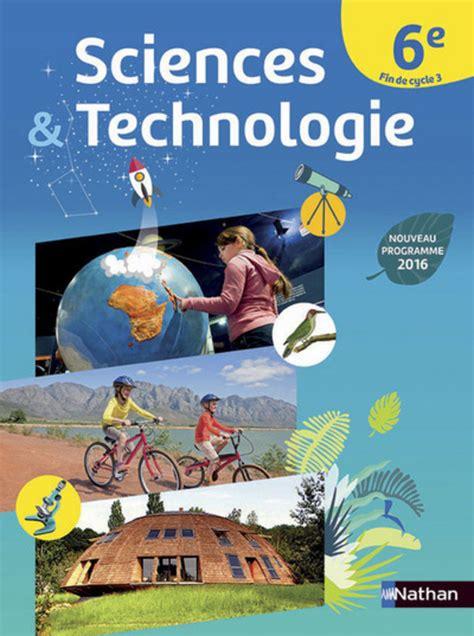 sciences  technologie  fin de cycle  livre de