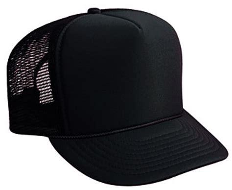 Black Trucker Hat Brand New