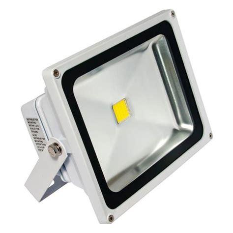 277 volt led flood lights american lighting 02392 white 30 watt 100 277 volt 4500k