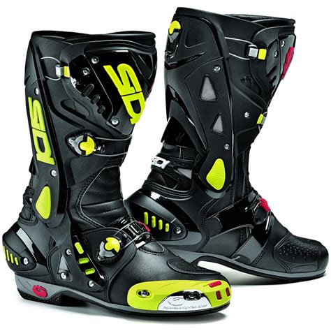 motorcycle street racing boots sidi vortice motorcycle boots breathable vented race sport