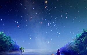 Starry Night Desktop Backgrounds Wallpaper Cave