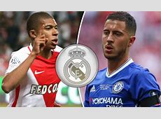 Real Madrid transfer news Hazard and Mbappe could replace