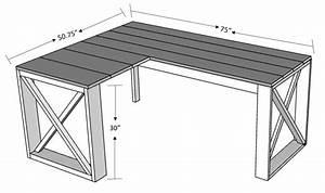l shaped x desk in 2020 diy office desk l shape