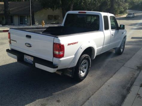 Sell Used 2007 Ford Ranger Sport Extended Cab Pickup 2