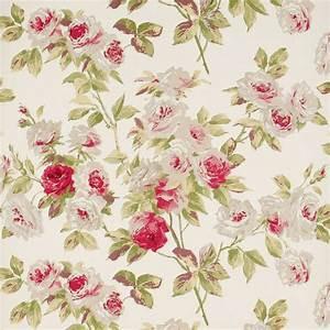 Papier Peint Fleuri Vintage : papierpeint9 papier peint fleuri anglais ~ Melissatoandfro.com Idées de Décoration