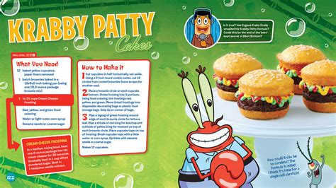 spongebob cuisine spongebob cooking krabby patties image mag