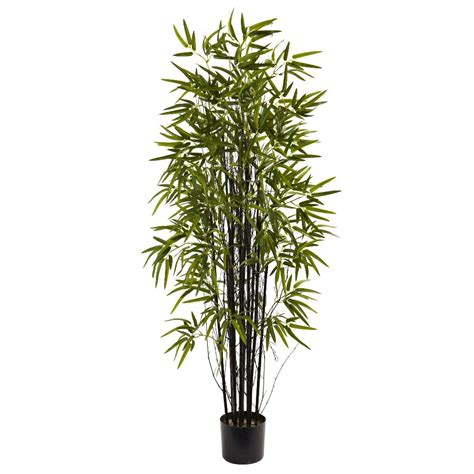 5 silk black bamboo tree artificial trees silk trees
