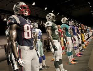 New NFL Football Players Uniforms