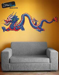 chinese dragon wall decal dragon wall sticker With dragon wall decals