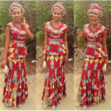 lovely ankara skirt and blouse style http www dezangozone 2016 03 lovely ankara skirt and