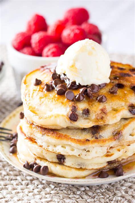 chocolate chip pancakes chocolate chip pancakes just so tasty