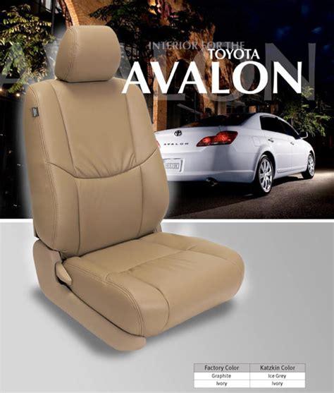 avalon toyota leather katzkin seat 2005 seats xl autoseatskins interior 2007 features 2006 2009