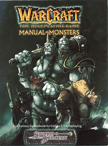 Manual Of Monsters - Wowpedia