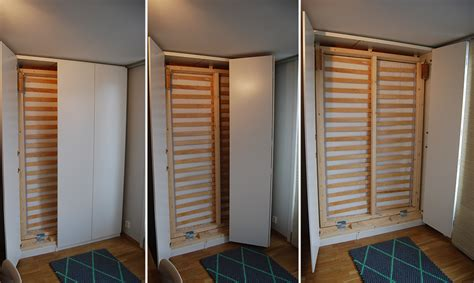 bedroom decor ideas on a budget hack a pax murphy bed ikea hackers