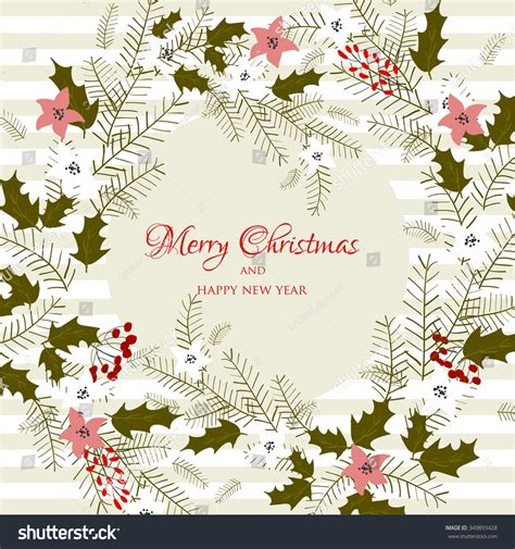 Merry christmas and happy new year. Christmas Glowing Lights. Merry Christmas And Happy New ...