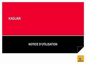 Carnet Entretien Renault Kadjar : 2015 renault kadjar manuel du propri taire in french ~ Medecine-chirurgie-esthetiques.com Avis de Voitures