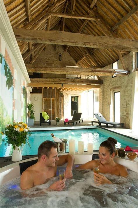 chambre d hotes piscine interieure roulotte d 39 hôtes avec spa piscine intérieure hammam