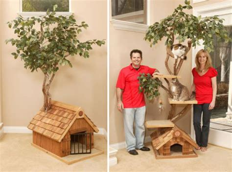 tree cat house unique cat tree houses with real trees from pet tree house digsdigs