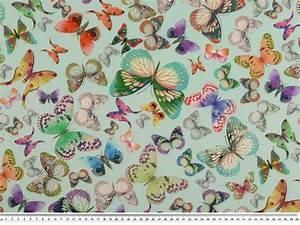 Stoffe Auf Rechnung : dekostoff schmetterlinge multicolor 140cm drucke ~ Themetempest.com Abrechnung