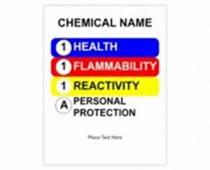 avery design print online ultraduty ghs chemical labels With hmis label template