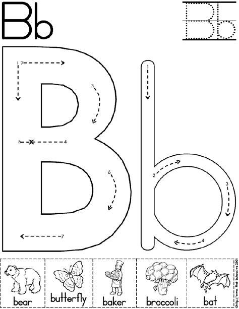 letter b worksheets for preschool letter a alphabet letter b worksheet preschool printable activity