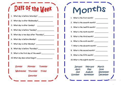 days  months spanish language learning days
