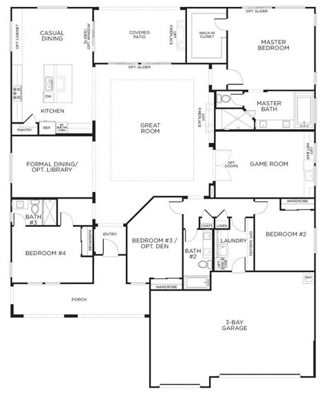 1 luxury house plans 100 large one floor plans best collections of
