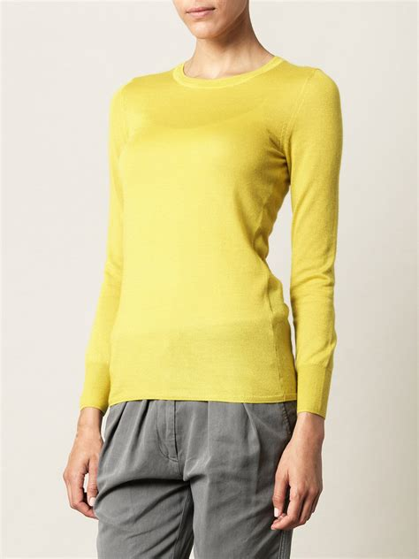 marant sweater marant philo sweater in yellow lyst