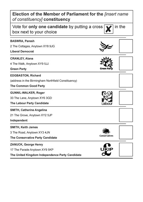 Cool Ballot Templates by 8 Surprising Differences Between Voting In The Uk And In
