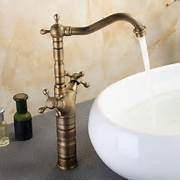 Old Fashioned Sink Faucets by Old Fashion Antique Brass Bathroom Basin Faucet Mixer Tap With Two Cross Hand