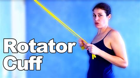 Rotator Cuff Exercises & Stretches With Resistive Bands