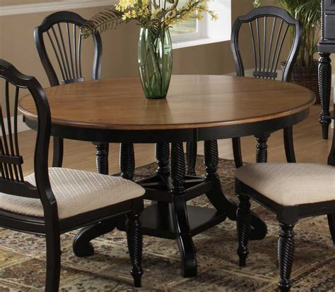 oval dining tables for hillsdale wilshire oval dining table rubbed black 7250