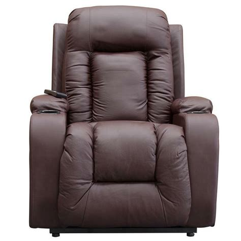Recliner Chair by Leather Electric Recliner Chair Ebay