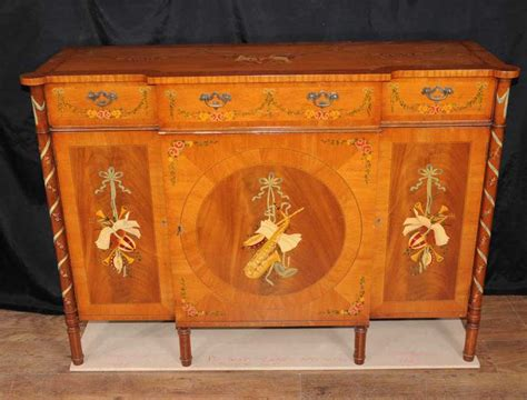 Hutch Sideboard Buffet by Regency Sheraton Painted Sideboard Buffet Server Cabinet