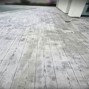 Le beton imprime parquet en bois for Parquet imprimé