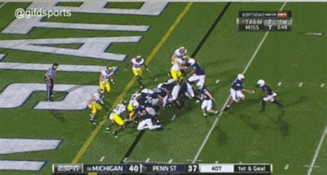 penn state upset michigan   craziest sloppiest