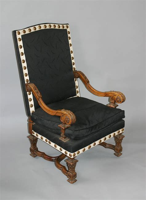 chaise louis xiv pair of louis xiv style fauteuils a la reine