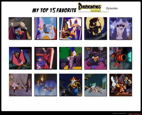 Top 15 Favorite Darkwing Duck Episodes By Jefimusprime On