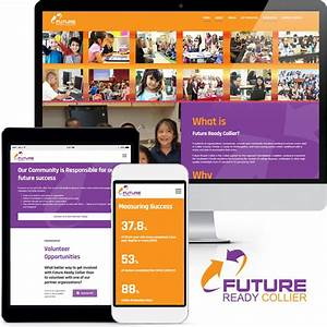 Non Profit Website Design Future Ready Collier RGB