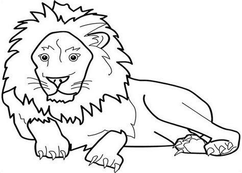 Zoo-animals Kids Coloring Pages With Free Colouring
