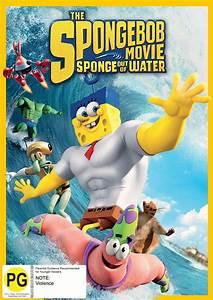 Spongebob Squarepants Sponge Out Of Water Dvd In