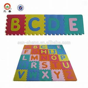 eva letter puzzle mat baby foam jigsaw puzzle mat alphabet With baby mat letters