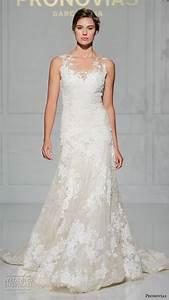 pronovias 2016 wedding dresses new york bridal runway With modified a line wedding dress