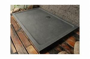 Bac De Douche : receveur de douche pierre granit d co v ritable 140x100 cm ~ Edinachiropracticcenter.com Idées de Décoration