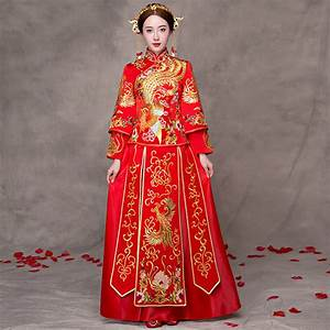 online get cheap traditional chinese wedding gowns With wedding dress from china