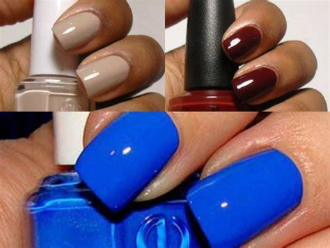 Diseños de arte de uñas, una colección simple de ejemplos efectos de uñas, visite la extensión 6700493045 #nailartdesignsforwintersimple. 5 colores de uñas perfectos para pieles morenas   ActitudFem