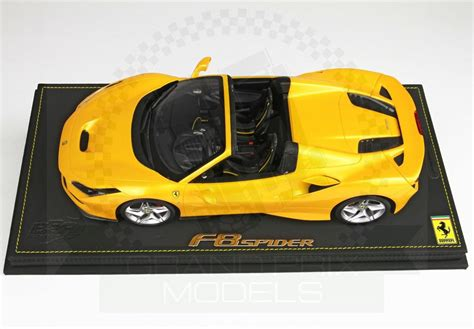 We're sorry, we don't have enough pricing data available for this vehicle. Ferrari F8 Tributo Spider 2019 Yellow 1:18 by BBR Concept43