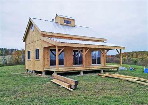 Tiny House Kit by Kits For 20 X 30 Timber Frame Cabin Jamaica Cottage Shop