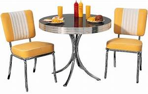 Table A Diner : american 50s style diner tables to19 diner table retro diner furniture 50s diner tables ~ Teatrodelosmanantiales.com Idées de Décoration