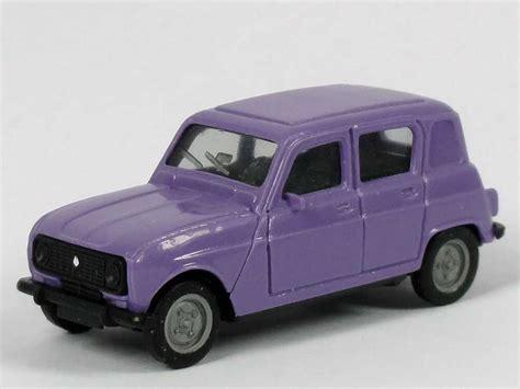 Renault R4 2019 by 1 87 Renault R4 Lila Hintere Seitenfenster Geschlossen